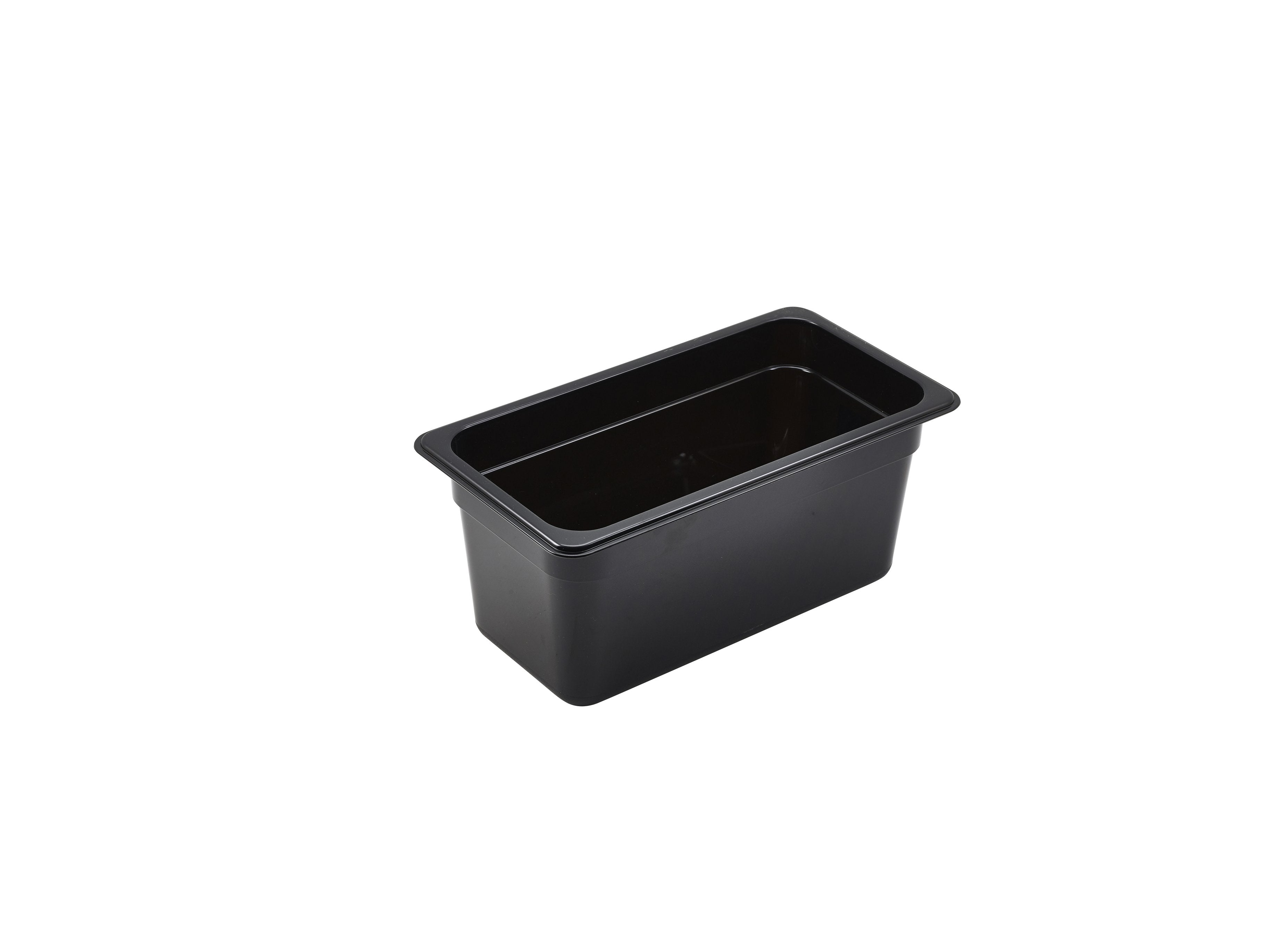 1/3 -Polycarbonate GN Pan 150mm Black
