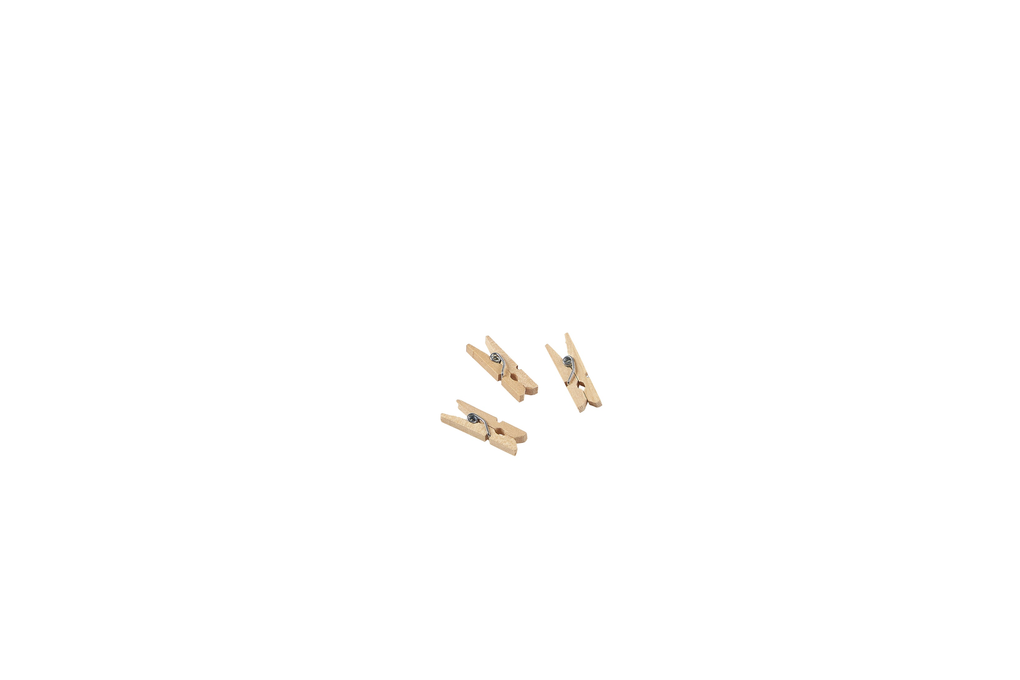 "Miniature Wooden Pegs 2.5cm/1""  (1000pcs)"