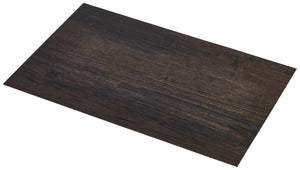 Placemat Dark Wood Effect 45x30cm