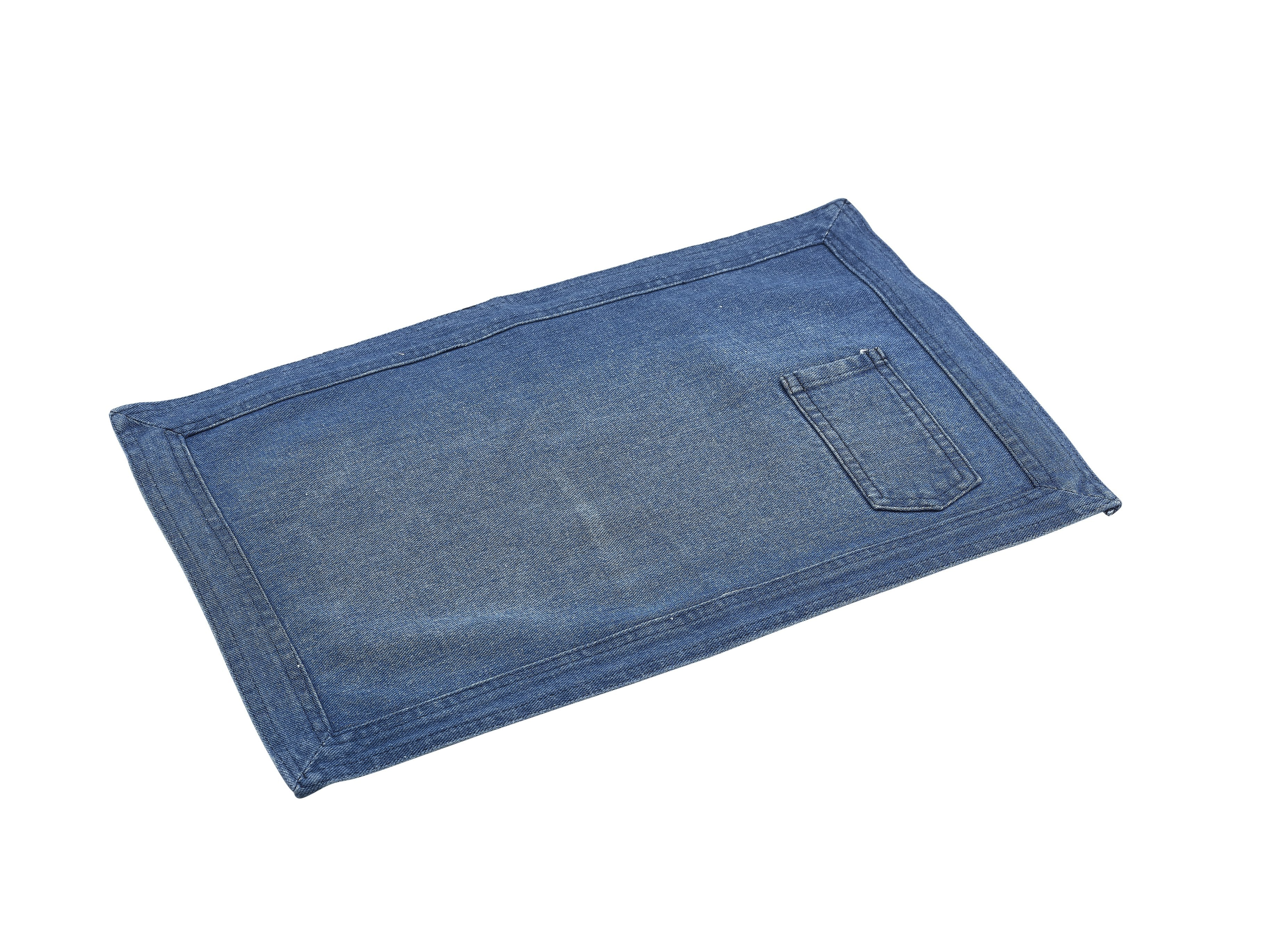 Washed Denim Placemat 45x30cm