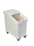 Polypropylene Mobile Ingredient Bin with Scoop 102 Litre
