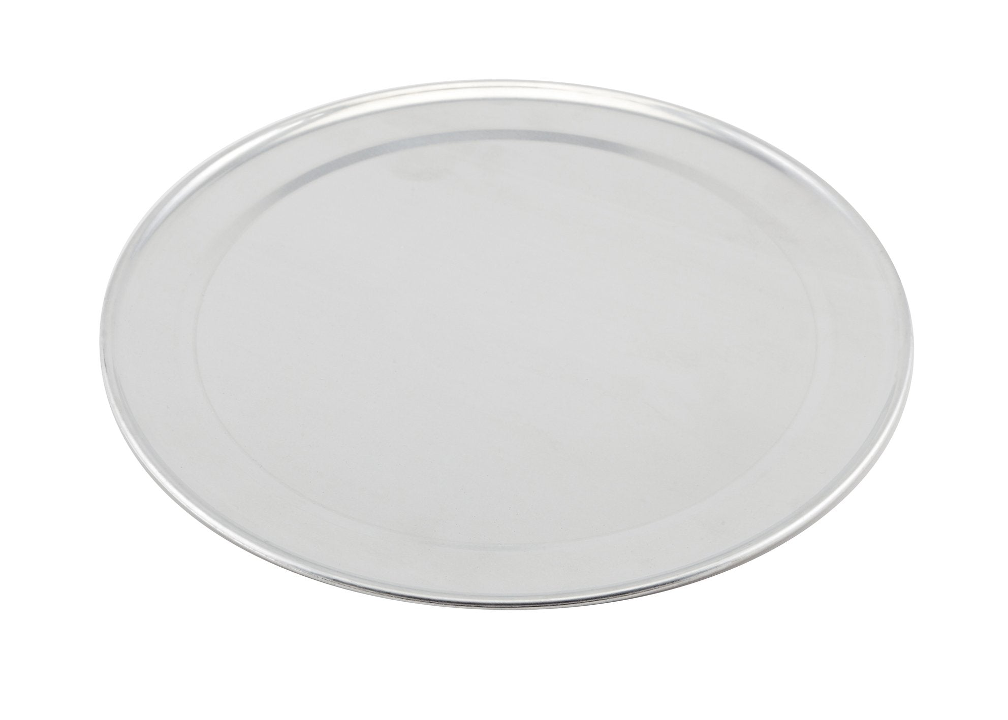 Genware Alum. Flat Wide Rim Pizza Pan 11""