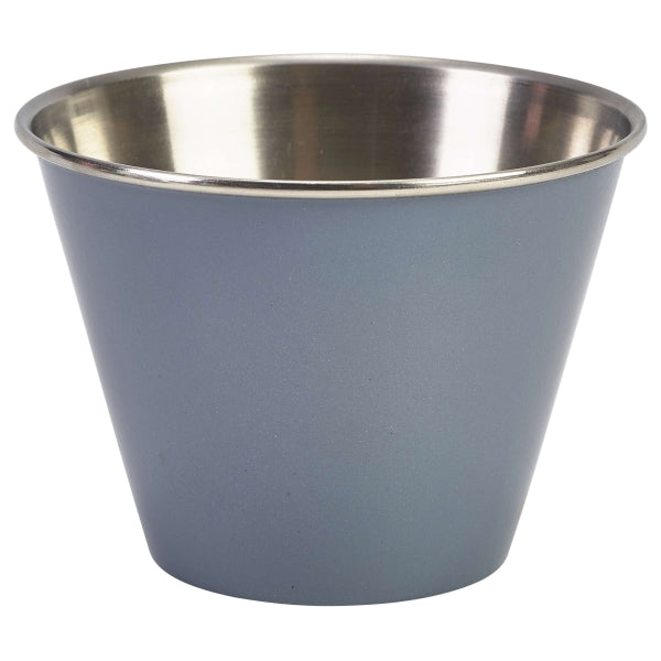 12oz Stainless Steel Ramekin Grey  24 pack