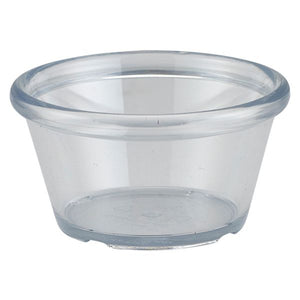 Ramekin 3oz Smooth Red 24 pack