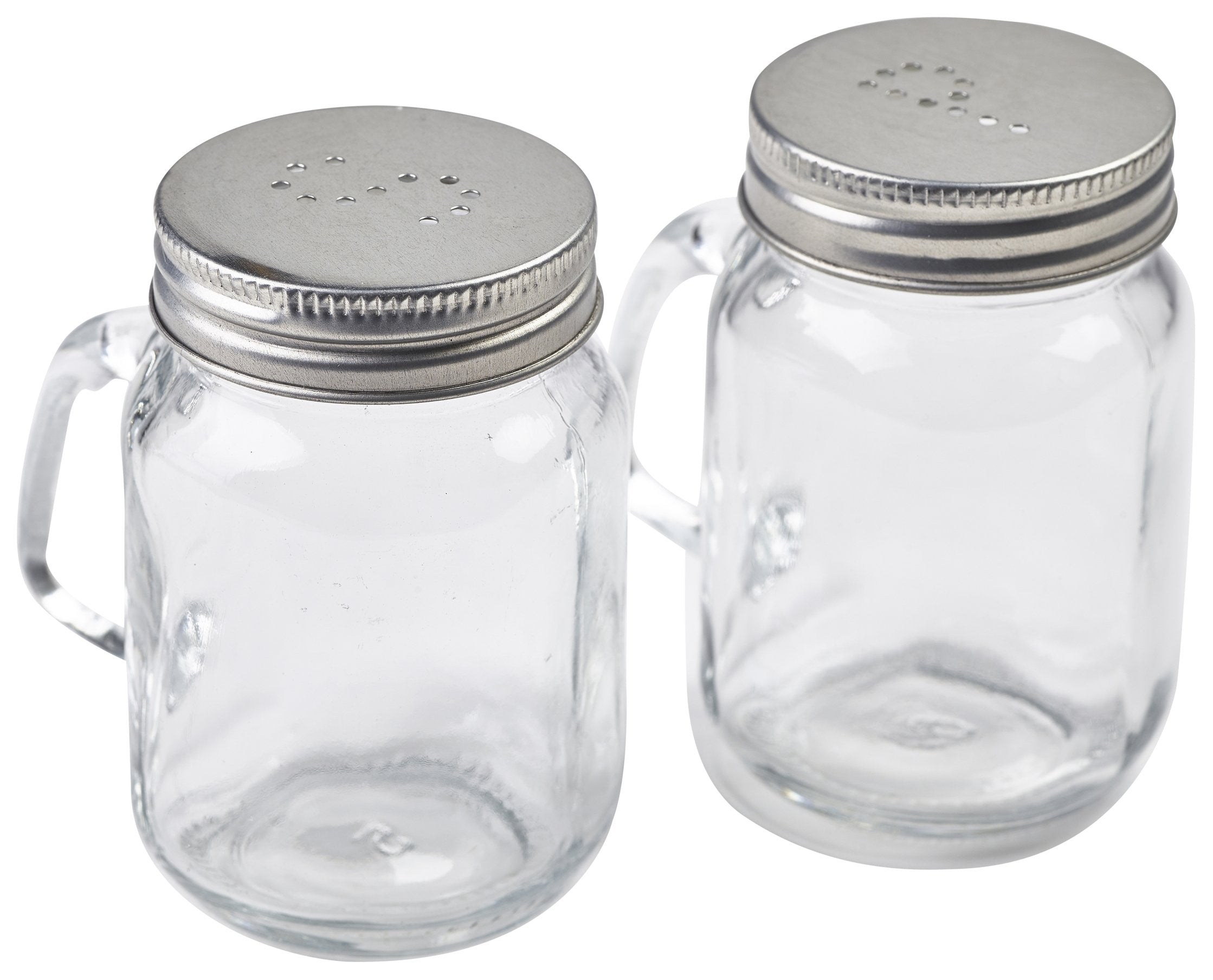 Mason Jar Salt & Pepper Shaker Set