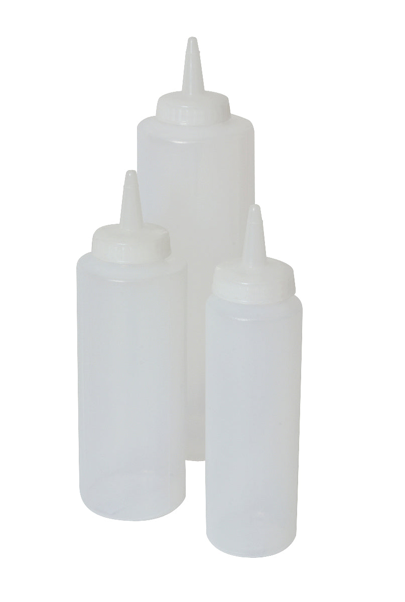 Genware Squeeze Bottle Clear 8oz/23cl