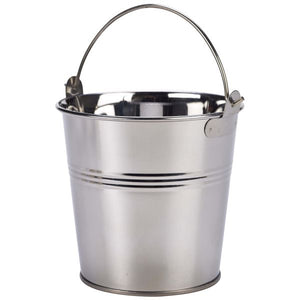 Stainless Steel Serving Bucket 12 pack 12cm Dia