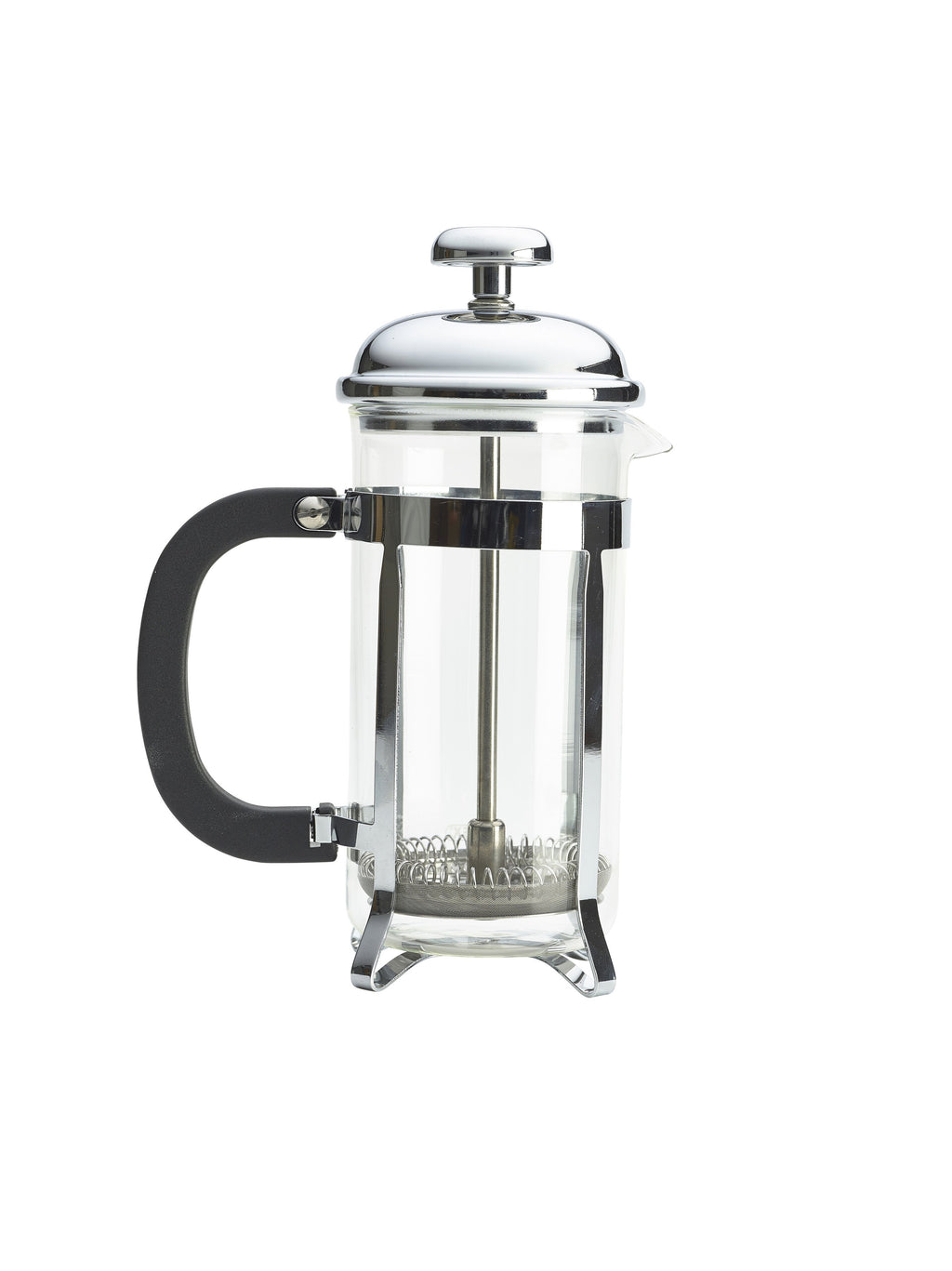 3 Cup Cafetiere Chrome Pyrex 350ml