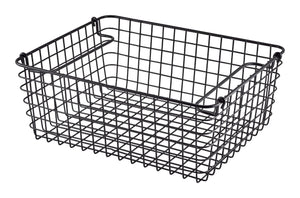 Black Wire Display Basket GN1/2