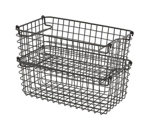Black Wire Display Basket GN1/3