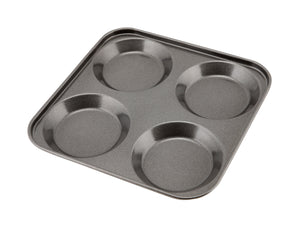 Carbon Steel Non-Stick 4 Cup York. Pudd Tray