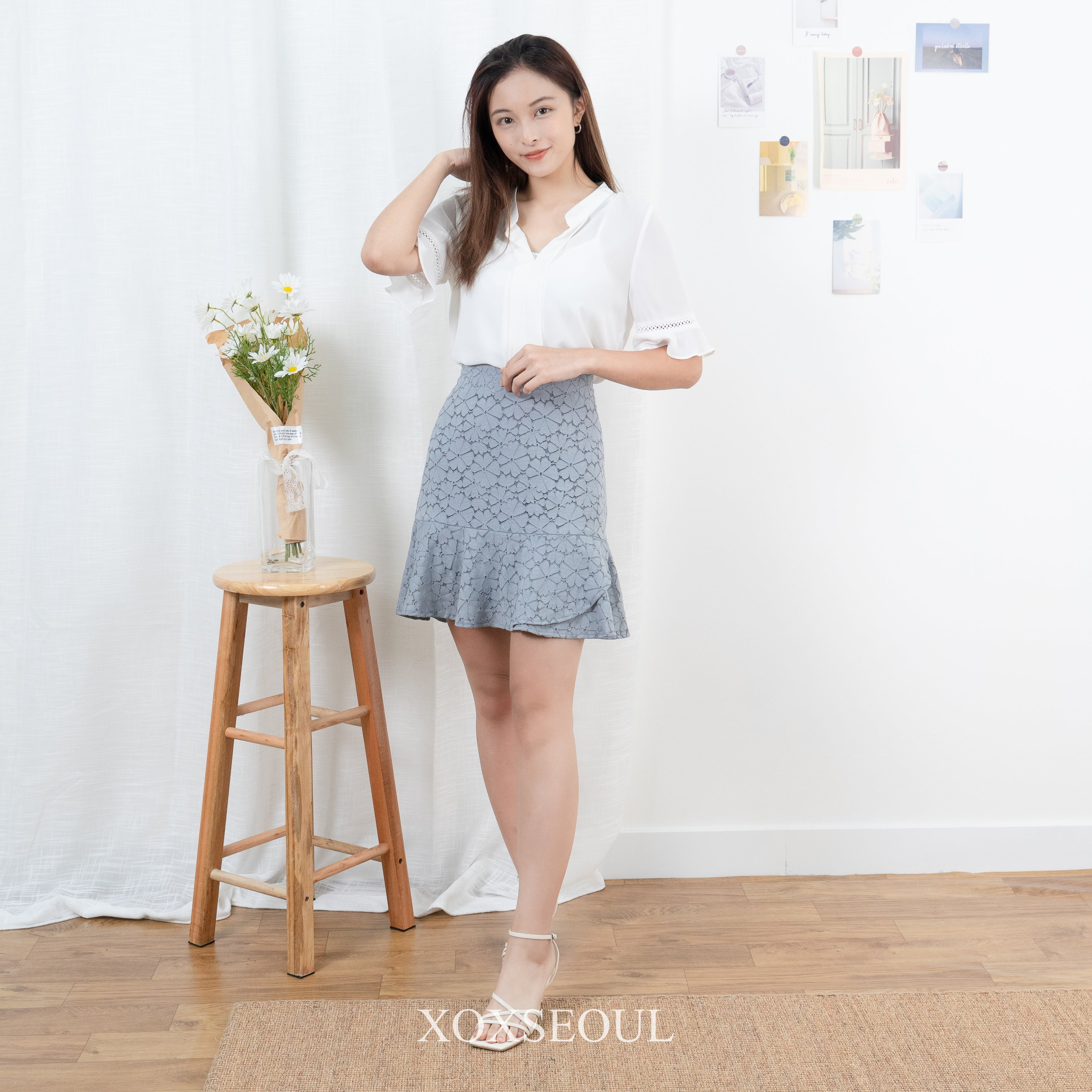 Present To You Lace Skirt (2 Colors)