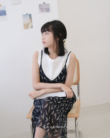 Good Timing Sleeveless Top (2 Colors)