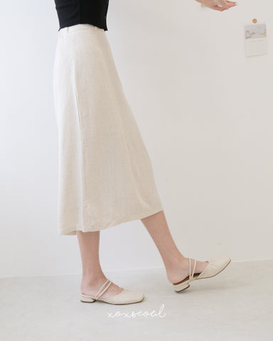 Go To Basic Linen Skirt