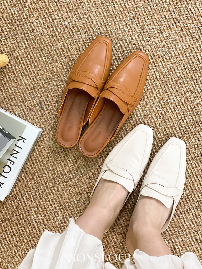 新年新鞋團 - Everymore Backless Loafers (2 Colors)