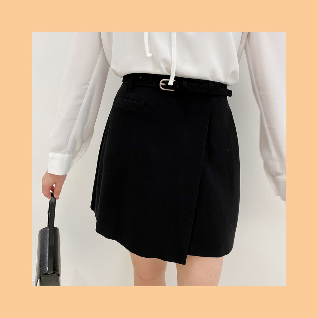 Sweet Melody Belt Skirt (2 Colors)