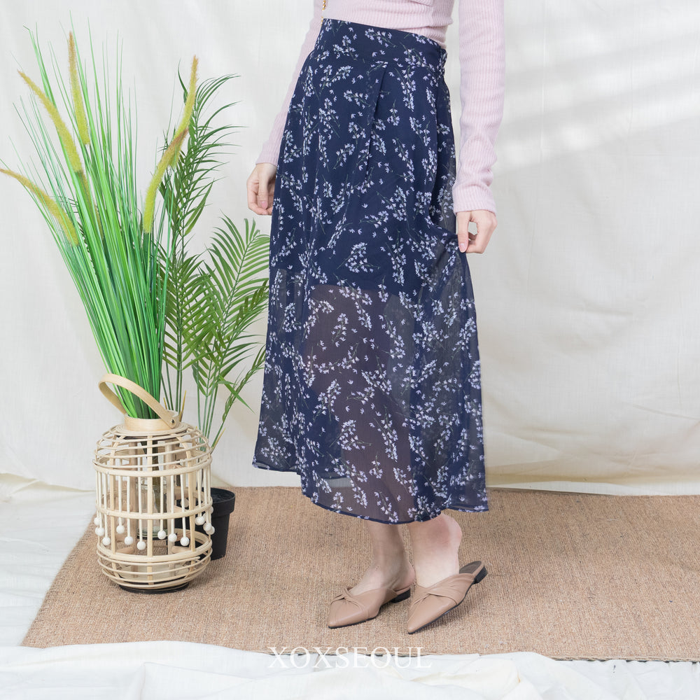 Go See The Flowers Skirt (2 Colors)