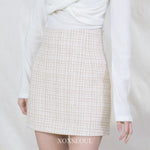 Spring Breath Tweed Skirt (2 Colors)
