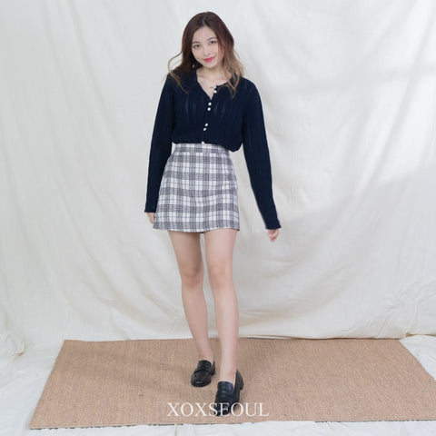 Not Hurry Skirt Pants (2 Colors)