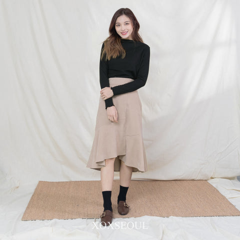 Night Is Over Skirt (3 Colors)
