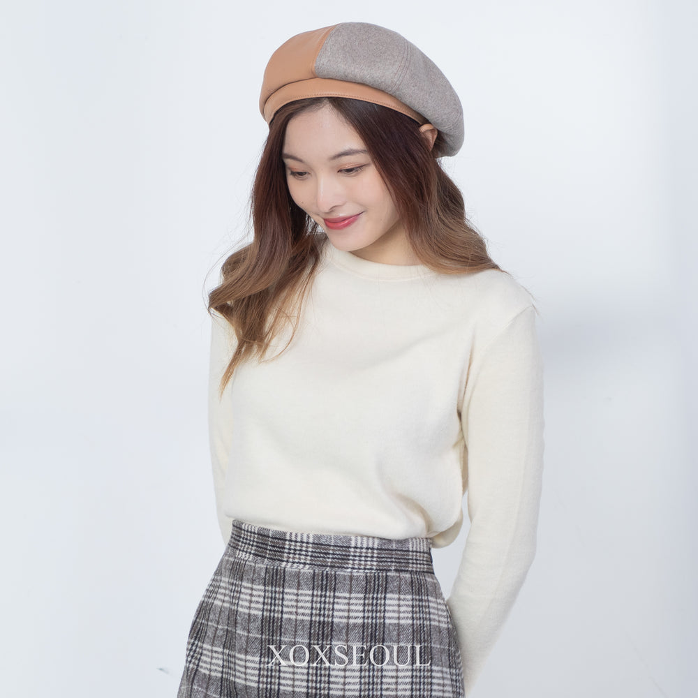 Mixed Color Beret (2 Colors)