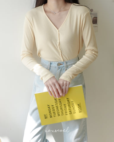 Your Daily Cardigan Top (4 Colors)