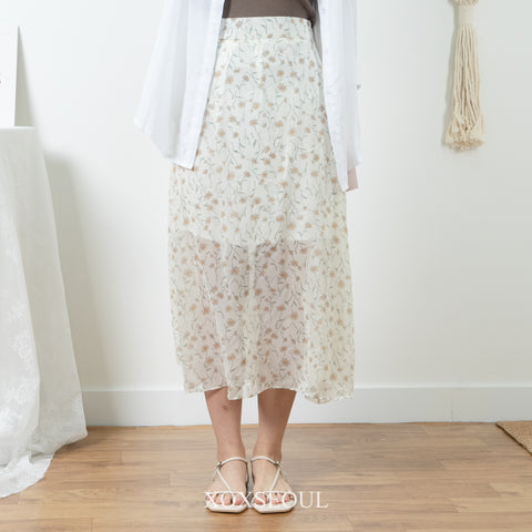 Daisy Love Midi Skirt