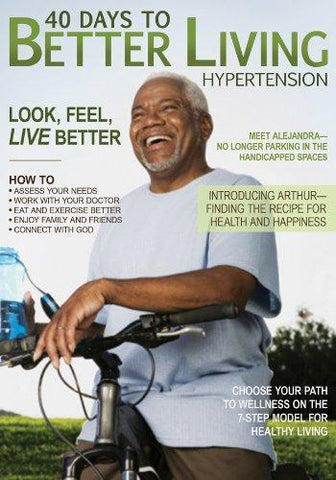 40 DAYS TO BETTER LIVING HYPERTENSION - BW Wonderland
