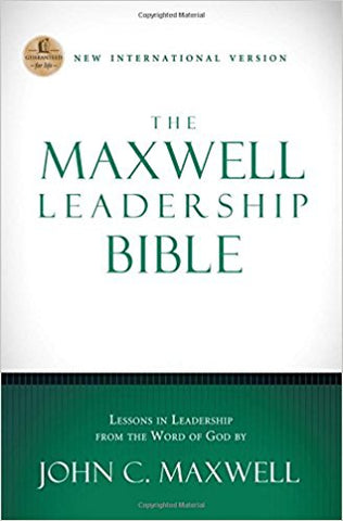 NIV, The Maxwell Leadership Bible, Hardcover by John Maxwell - BW Wonderland