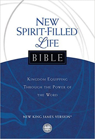 NKJV NEW SPIRIT-FILLED BIBLE - BW Wonderland