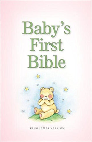 KJV Baby's First Bible, Hardcover, Pink - BW Wonderland