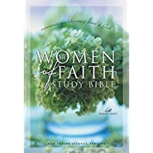 NIV Women of Faith Study Bible - BW Wonderland