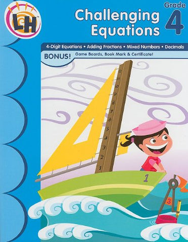 CHALLENGING EQUATIONS GRADE 4