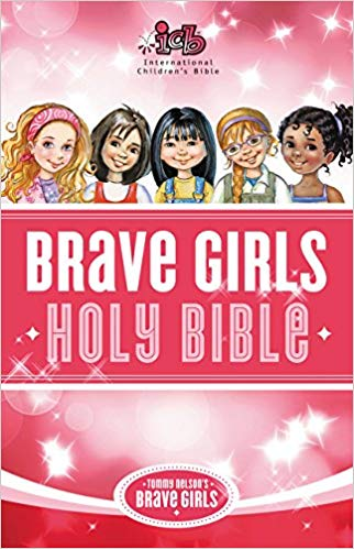 ICB Brave girl's Holy Bible Hard Cover