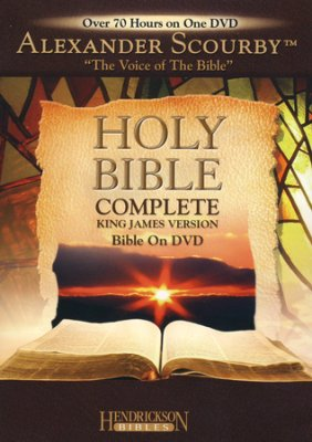 KJV HOLY BIBLE COMPLETE BY ALEXANDER SCOURBY