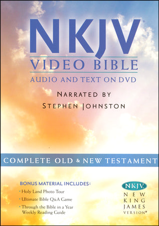 NKJV VIDEO BIBLE /AUDIO & TEXT ON DVD