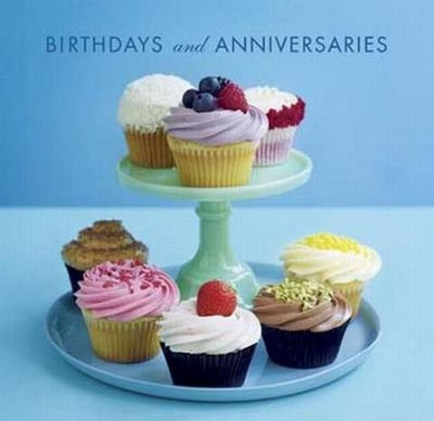 BIRTHDAYS AND ANNIVERSARIES BOOK[ PAPERS