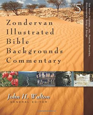ZONDERVAN ILLUSTRATED BIBLE BACKGROUNDS COMMENTARY! JOHN H. WALTON