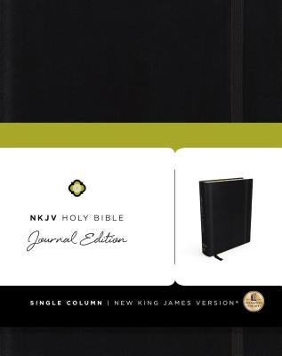 NKJV journal edition black, Hard Cover