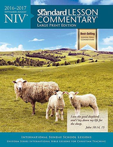 NIV Standard Lesson Commentary Large Print Edition 2016-2017