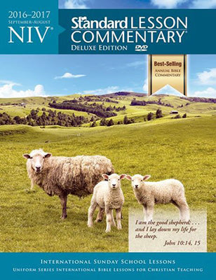 NIV Standard Lesson Commentary Deluxe Edition 2016-2017