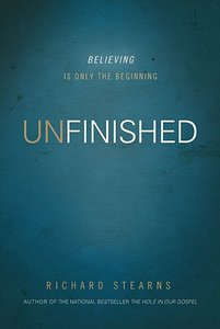 UNFINSHED. HARD COVER BY RICHARD STEARNS.