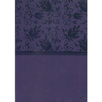 NKJV Large Print Compact Reference Bible, Purple