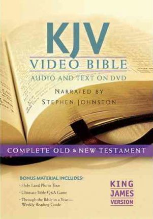 KJV VIDEO BIBLE/ AUDIO & TEXT ON DVD
