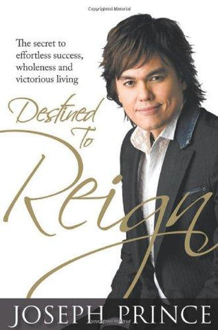 DESTINED TO REIGN H/C !JOSEPH PRINCE