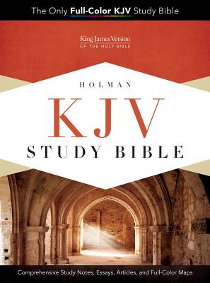 KJV STUDY BIBLE PREMIUM BLACK GENUINE COWHIDE