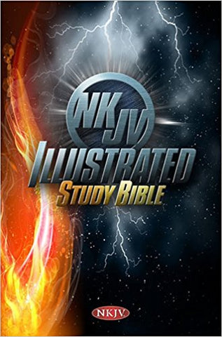NKJV ILLUSTRATED STUDY BIBLE H/C