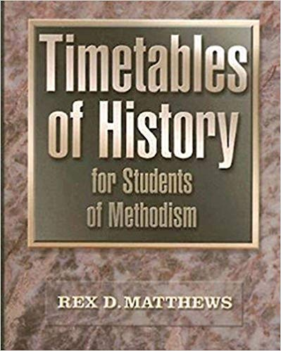 Timetables of History for Students of Methodism