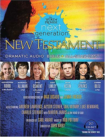 The World of Promise Next Generation, New Testament Audio Bible