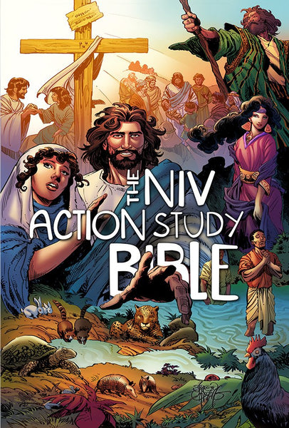 The NIV, Action Study Bible (Action Bible Series) Hardcover
